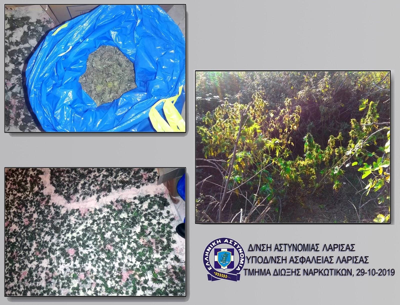 Συνελήφθη 36χρονος σε αγροτική περιοχή της Λάρισας για ναρκωτικά
