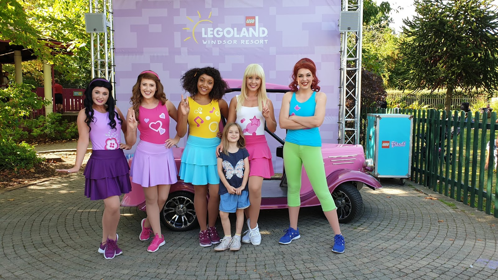 lego friends girls character meet legoland windsor