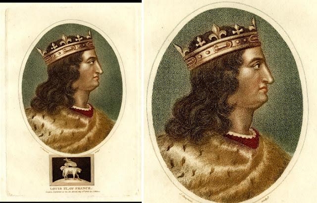 """""""Retrato de Luís IX, Rei da França"""""""