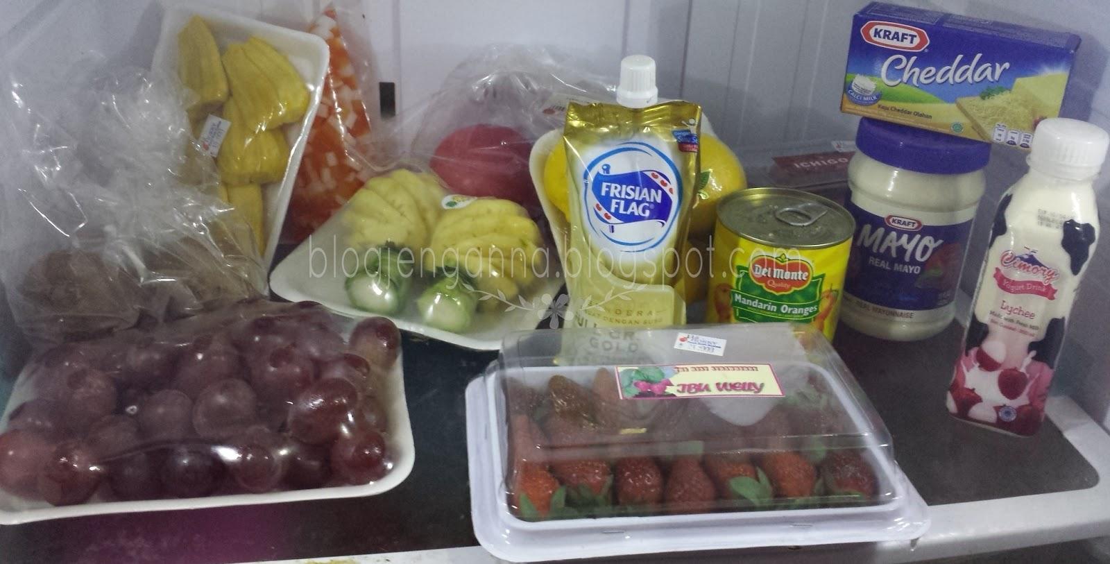 Aneka Resep dan Cara Membuat Salad Buah yang Enak