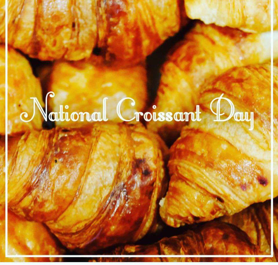 National Croissant Day Wishes Images download