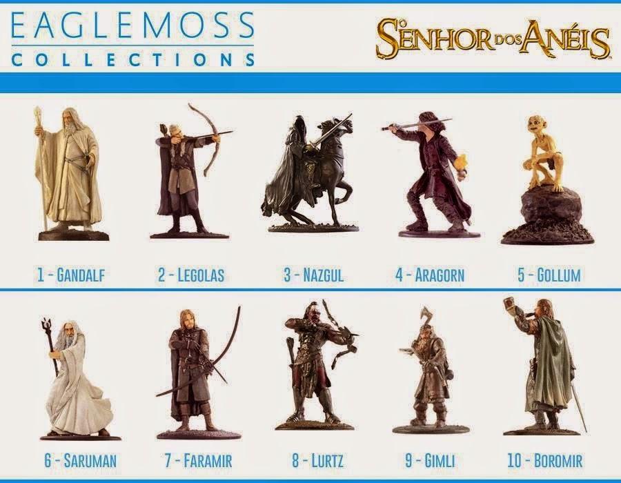 Lista de Miniaturas o Senhor dos Anéis