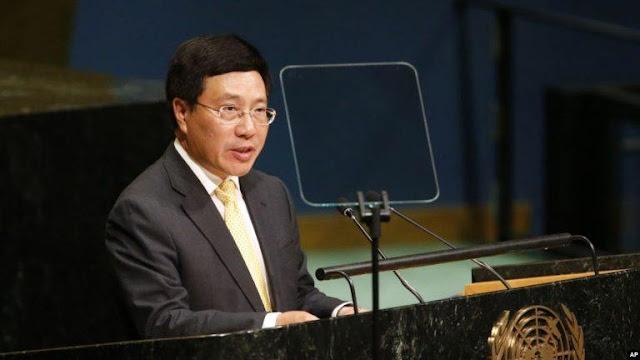 Việt Nam nêu vụ Bãi Tư Chính trước Đại Hội đồng Liên Hợp Quốc?