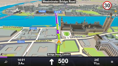 Screenshot Sygic GPS Navigation & Maps