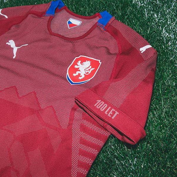 Camisetas de futbol 2020: Nueva República Checa Primera Camiseta mundial 2018