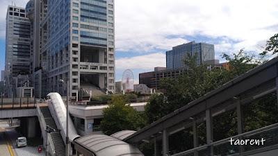 cara menuju odaiba dengan kereta api
