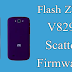 Flash ZTE V829 scatter Firmware
