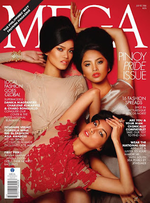 Mega Magazine June 2011 Supermodels cover