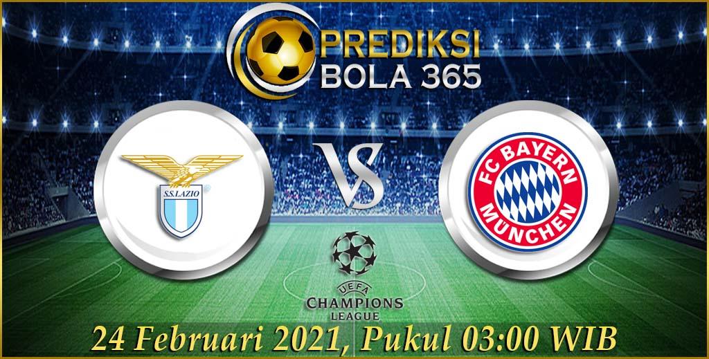 Prediksi Bola Lazio Vs Bayern Munchen Liga Champions Rabu 24 Februari 2021