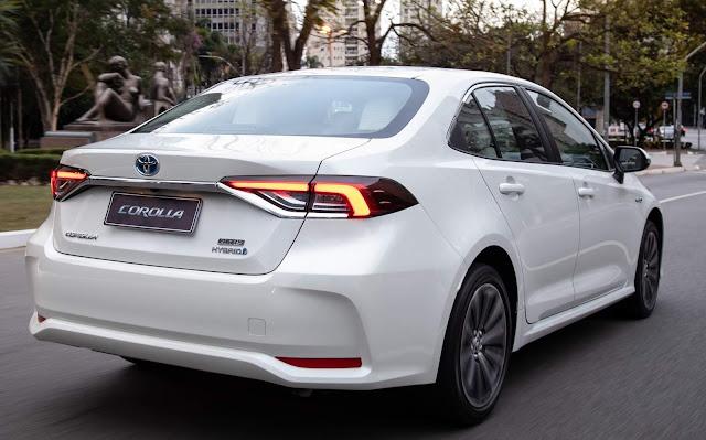 Novo Toyota Corolla Híbrido 2020 - Branco Pérola