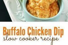 Buffalo Chicken Dip Crockpot Recipe