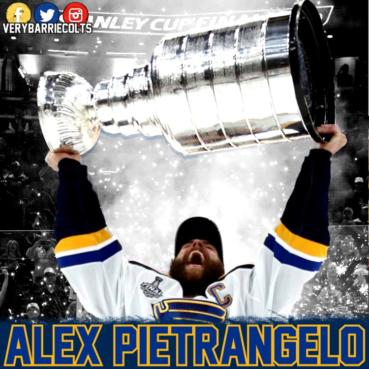 Former Barrie Colt Alex Pietrangelo Wins Stanley Cup Video Very Barrie Colts A Website Covering The Barrie Colts Of The Ohl