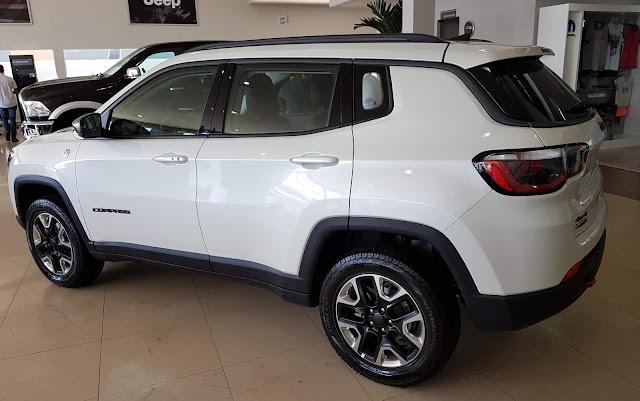 Jeep Compass 2017 Branco Perolizado