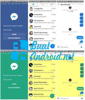 Download Messenger Lite Mod Clone Apk Terbaru Android