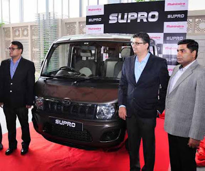 Mahindra & Mahindra, Mahindra Supro Van, Mahindra Supro Maxitruck, Supro launch in Jaipur