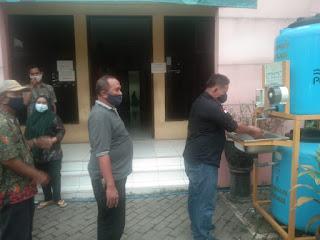 Kelurahan Margamulya Peringati Hari Cuci Tangan Pakai Sabun Sedunia