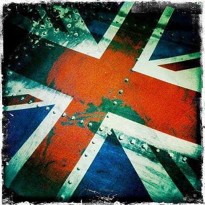 Dibujo de la bandera del Reino Unido
