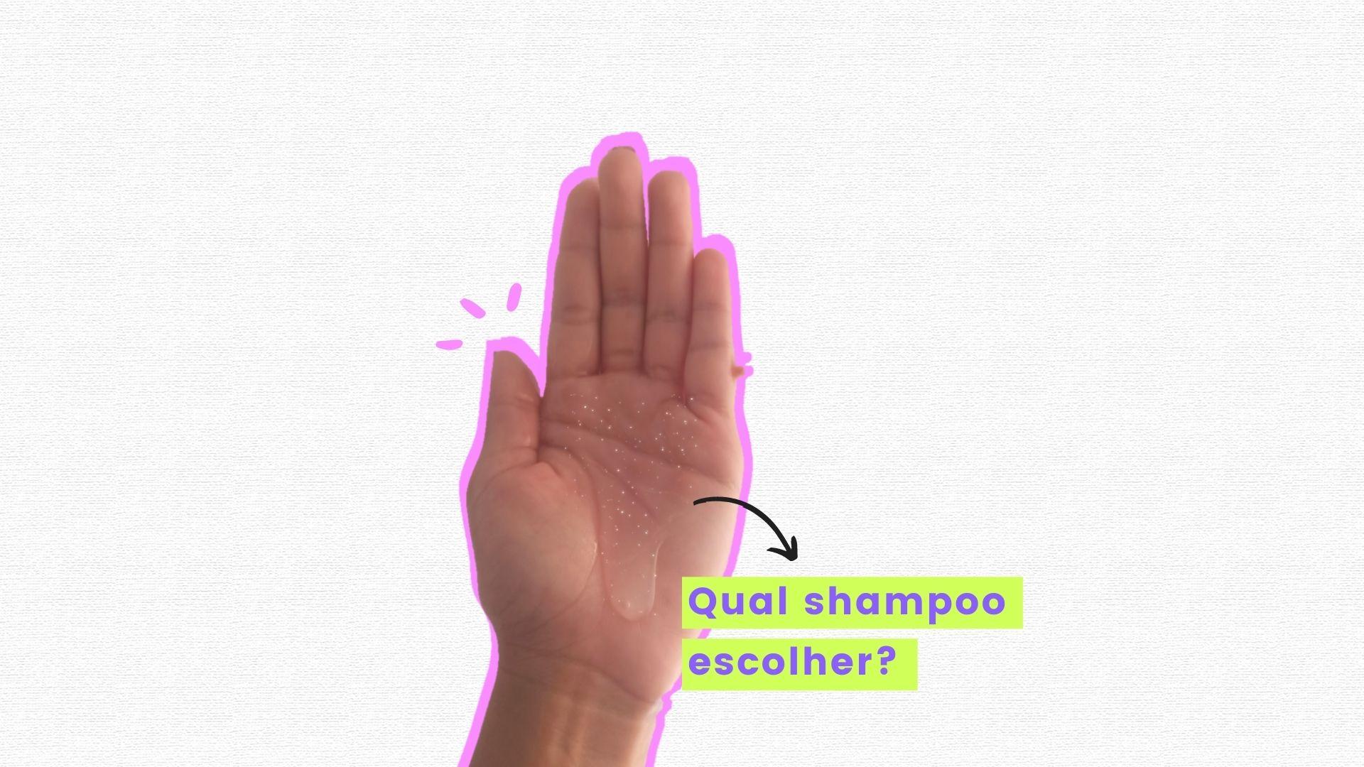 como escolher o shampoo certo para cabelo cacheado