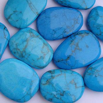 piedra preciosa azul