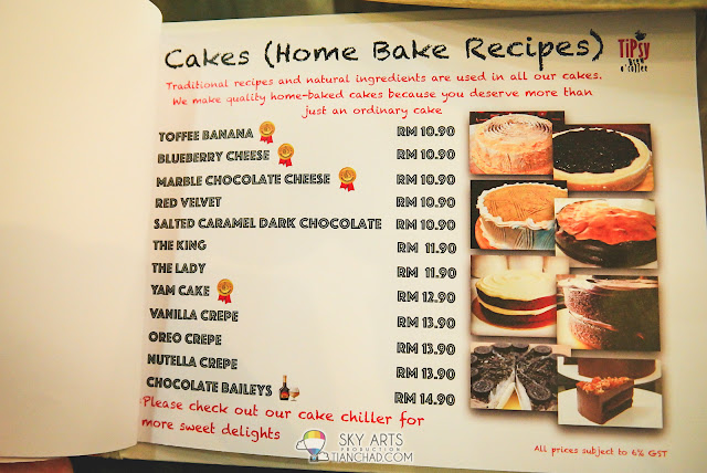 Home Bake Cake available at TiPsy Brew O'Coffee @ Puchong Setiawalk