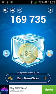 طريقة ربح بطاقات جوجل بلاي و رصيد باي بال من تطبيق Money Cube