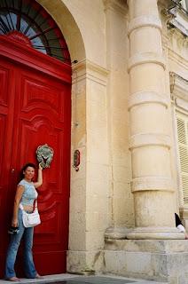 Palacete en la calle principal de Mdina