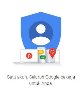 Tagline Akun Google