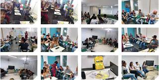 Rede Cananéia realiza encontro de formação de professores e alunos em escolas públicas estaduais de Pariquera-açu e Registro-SP