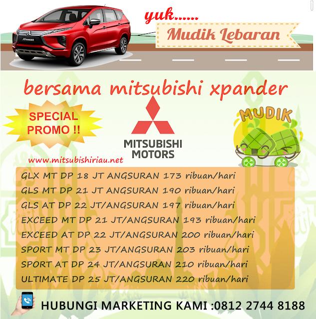 Promo Lebaran Mitsubishi Xpander Pekanbaru Riau April-Mei 2019