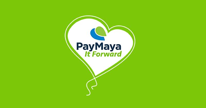 Give back via PayMaya It Foward