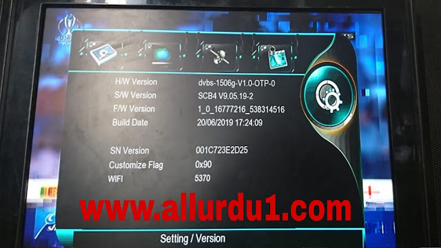 1506g New Software All Ok Upgrade by USB 20 jun 2019