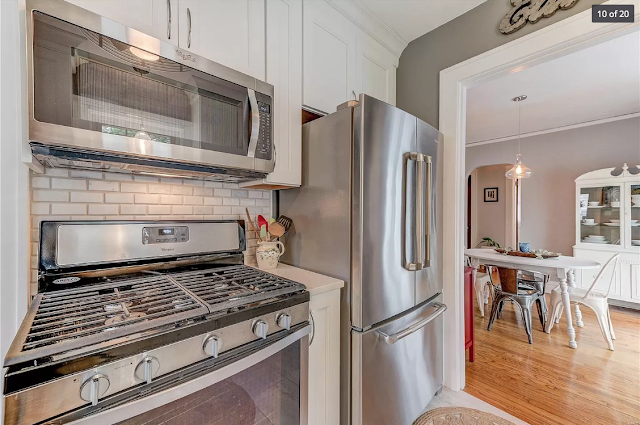 kitchen in 654 Oakland Ave, Webster Groves, Missouri • Plan B of the Sears Stanford model