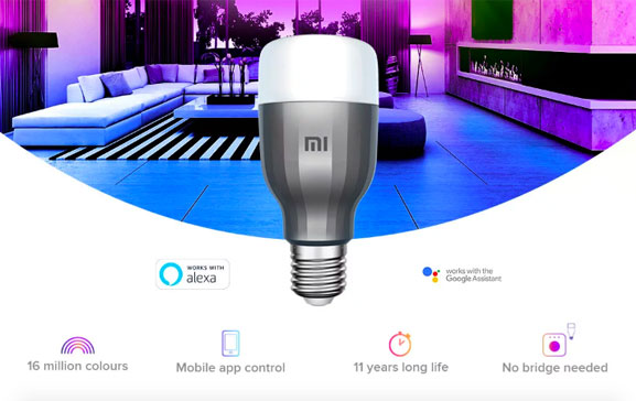 Xiaomi Mi LED Smart Bulb Now Available for Rs 1,299 in India