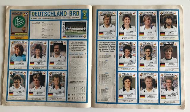 Figurine Germania Spagna 82