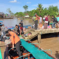 SB.Air Tawar Tujuan Guntung Tenggelam di Perairan Sei Perak