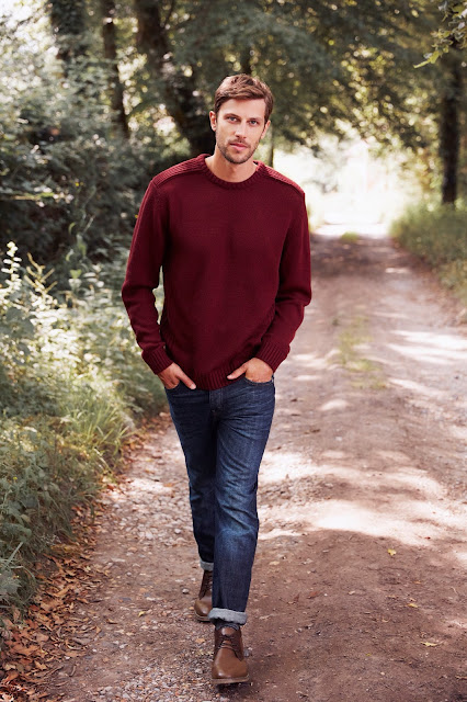suéter masculino cor bordô