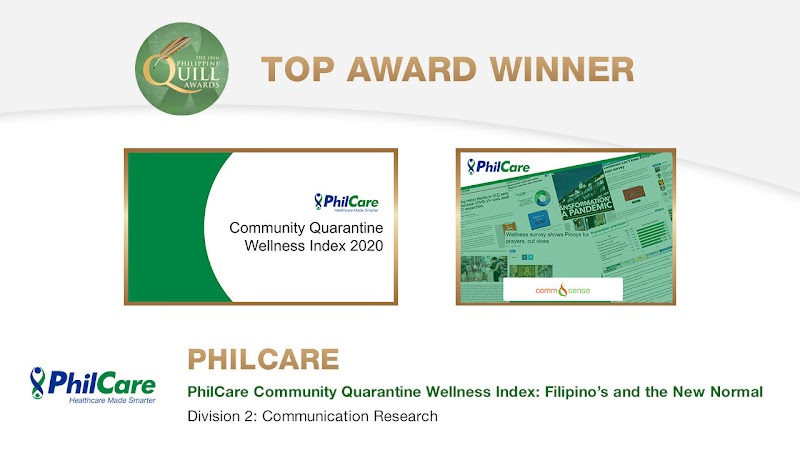 Leading HMO PhilCare wins big at the Philippine Quill Awards