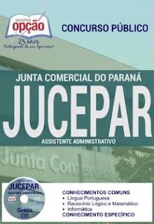 Apostila Concurso JUCEPAR Paraná 2016.