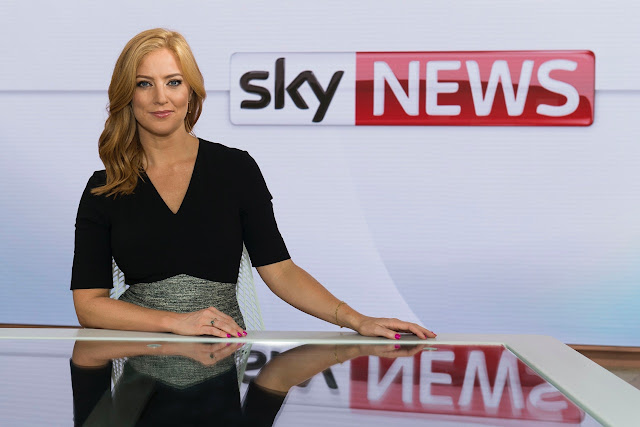 Sarah-Jane Mee Sky News