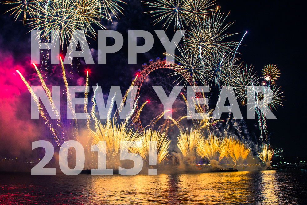 Happy New Year Card 2015