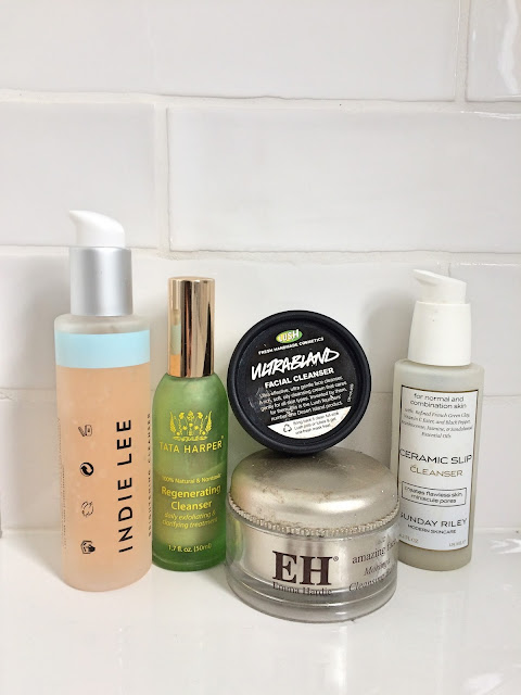 Favourite morning cleansers