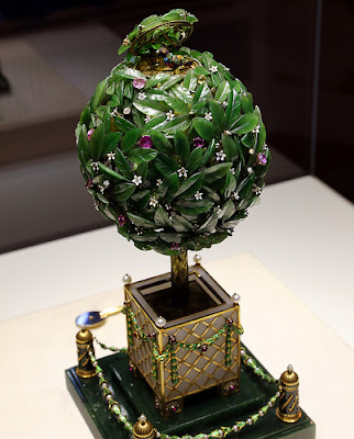 Fabergé Museum Saint Petersburg Russia the Bay Tree egg