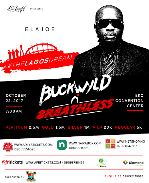 Buckwyld and Breathless Concert: Five reasons you must not miss it