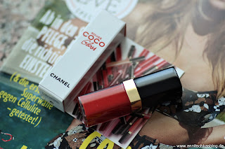 Review: Chanel Rouge Coco Gloss- 752 BItter Orange