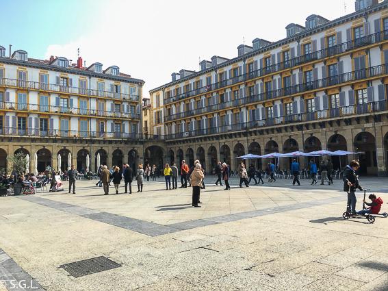 Plaza de la constitucion. 20 cosas para ver en Donostia