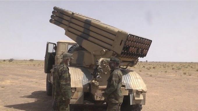 🔴 البلاغ العسكري رقم 15 : الجيش الصحراوي يواصل دك تمركزات الجيش المغربي على طول جدار العار.