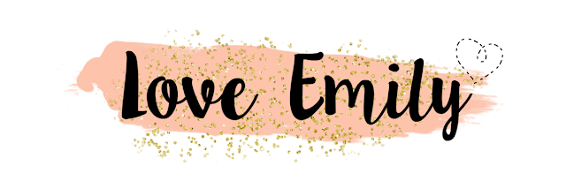 Love Emily Blog, Custom Blog Header