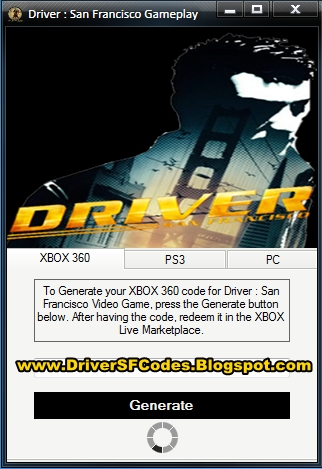 Driver San Francisco Download Driver San Francisco Codes For Xbox 360 Ps3 And Pc Installer Free