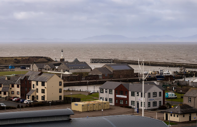 Photo of the view over the Solway Firth from Mote Hill
