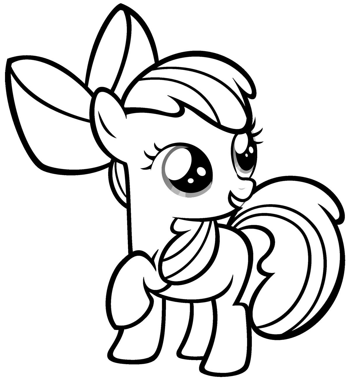 my little pony coloring pages - HD1108×1200